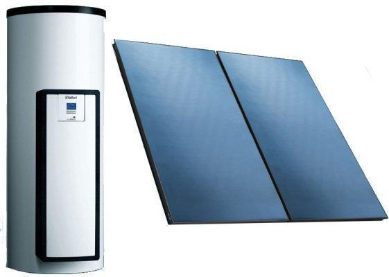 Незакипающая солнечная система Vaillant auroSTEP/4 plus 1.150 VTe