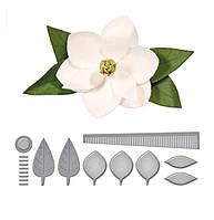 """Ножи для вырубки набор из 10 шт цветок """"Магнолия"""" для фоамирана, бумаги, фетра для скрапбукинга"""