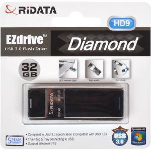Флешка USB 3.0 32Gb Ridata Black HD9                                   960077/6418348