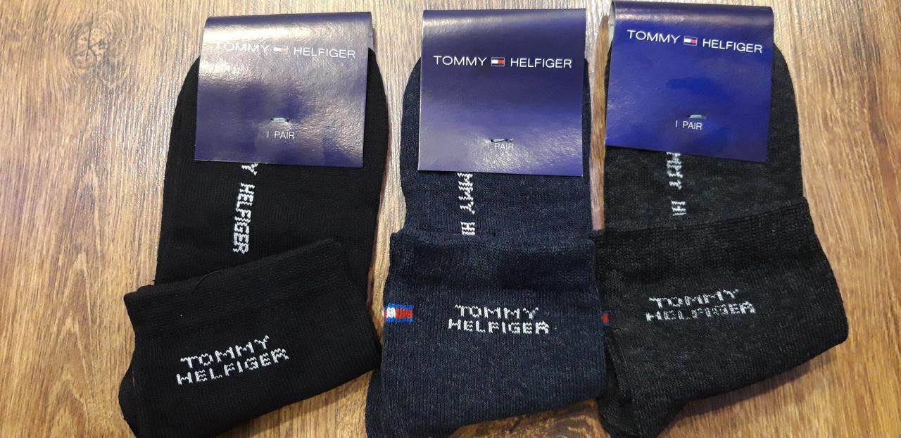 """Женские стрейчевые носки в стиле """"Tommy"""" Украина (23-25)"""