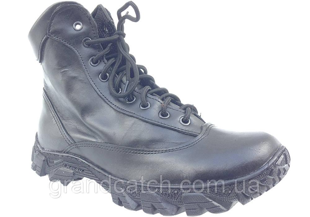 Ботинки Energy кожа (черные)