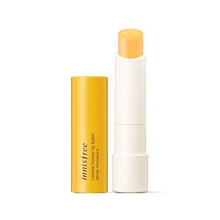 Бальзам для губ с экстрактом меда INNISFREE Canola Honey Lip Balm, фото 2