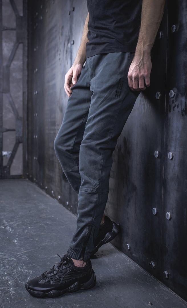 Мужские Джоггеры BEZET 2.0 Forest '19, мужские весенние штаны джогеры, темно-серые легкие брюки