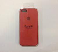 Силиконовый чехол для iPhone 5/5s/SE, - «темно терракотовый» - copy original