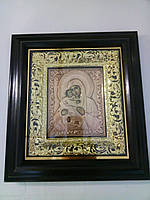 Икона Пресвятой Богородицы на подарок 34х37см