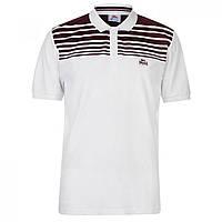 Поло Lonsdale Stripe White Burgundy - Оригинал 3f8d4b728f007