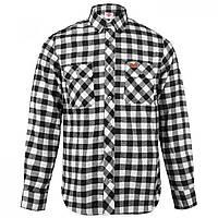 Рубашка Lee Cooper Slim Fit Check Black White - Оригинал 091cf3b0a9fa3