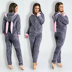 Домашний костюм пижамка ушками