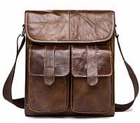 Чоловіча шкіряна сумка CROSS, фото 1