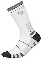 Термоноски InMove Sport Deodorant 35-37 Белые с серым