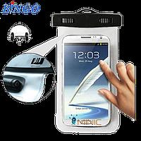 Водонепроницаемый чехол для смартфонов до 5.5 '' с разъемом для наушников Bingo , фото 1