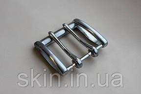Пряжка ременная, ширина - 45 мм, цвет - никель, артикул СК 5371, фото 2