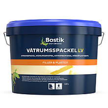 BOSTIK Vatrumsspackel LV, Шпаклевка финишная , 10кг