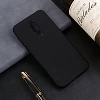 Чехол для Meizu Note 8 / M822H / M822Q 6.0'' силикон soft touch бампер черный