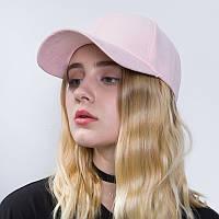 Бейсболка женская розового цвета
