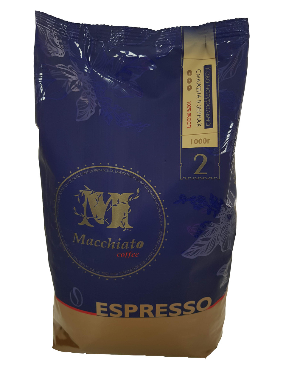 Кофе в зернах Macchiato Espresso, 20/80, 1кг