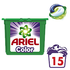 Капсулы Ariel PODS Color, 15шт
