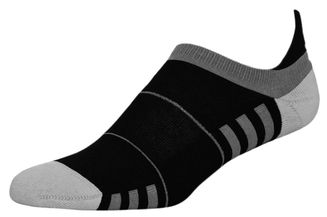 Термоноски InMove Mini Fitness 39-41 Черные с серым