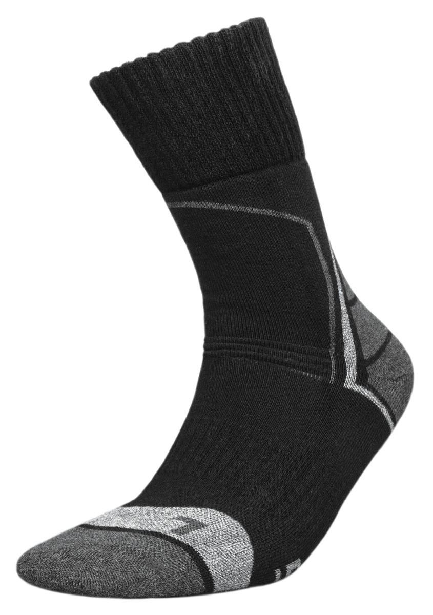 Термоноски InMove Trekking Deodorant 35-37 Черные с серым