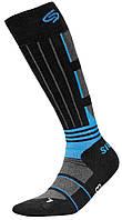 Термоноски InMove Ski Deodorant Silver 32-34 Черные с синим