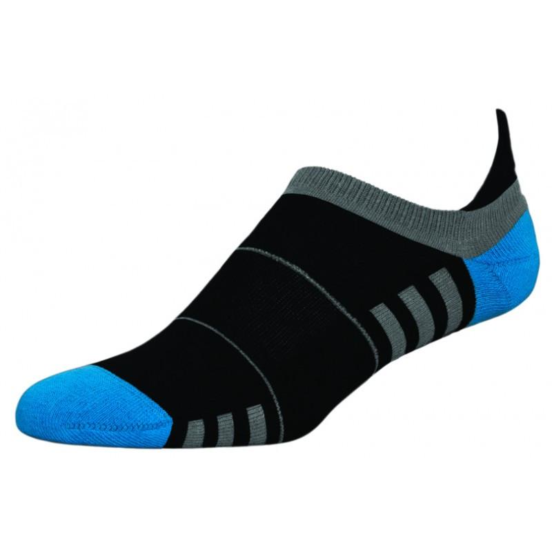 Термоноски InMove Mini Fitness 39-41 Черные с синим