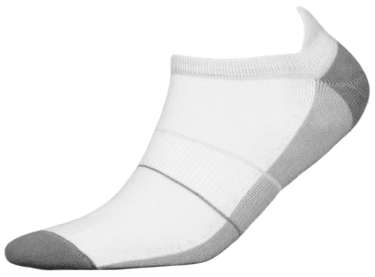 Термоноски InMove Mini Sport Deodorant 44-46 Белые с серым