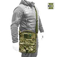 Тактичний планшет (тактична сумка планшет), колір ММ-14 (український піксель / українська цифра), фото 1