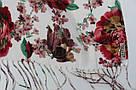 """Шарфик із квітами """"Моніка"""" 166-4, фото 2"""