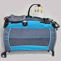 Манеж - кроватка для малышей SIGMA F-R-W
