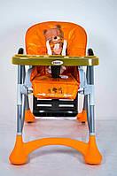 Детский стульчик для кормления DolcheMio HC-51 Bear оранжевый