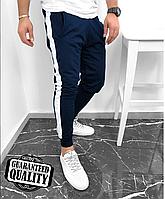Мужские брюки с лампасами | Чоловічі брюки з лампасами (Синий)
