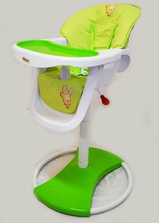 Дитячий стільчик для годування Dolchemio CH-71 салатовий