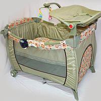 """Манеж - кроватка для малышей """"SIGMA"""" F-E-T, фото 1"""