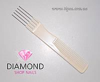 Расчёска для стрижки Salon Professional силиконовая PRO-Вилка