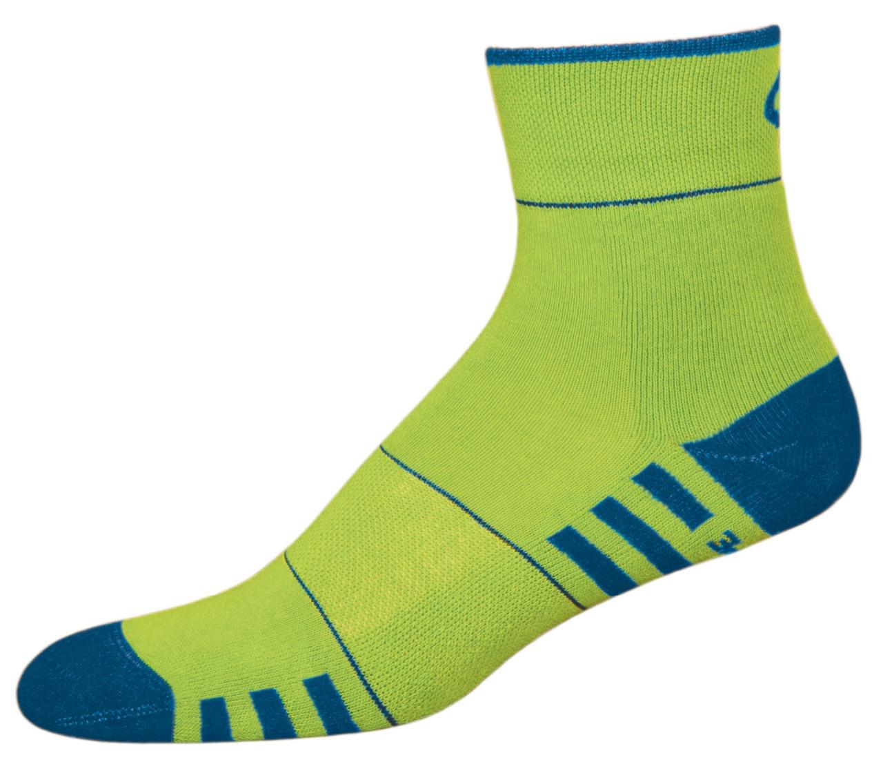 Термоноски InMove Fitness Deodorant 39-41 Зеленый с синим