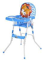 Детский стульчик для кормления GL 217С-212 голубой