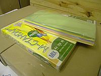 Цветная бумага А4 80г/м2 миксованная пастель