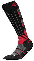 Термоноски InMove Ski Deodorant Silver 44-46 Черные с красным