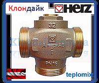 HERZ teplomix 1 1/4' 61°C антиконденсационный термостатический смесительный клапан