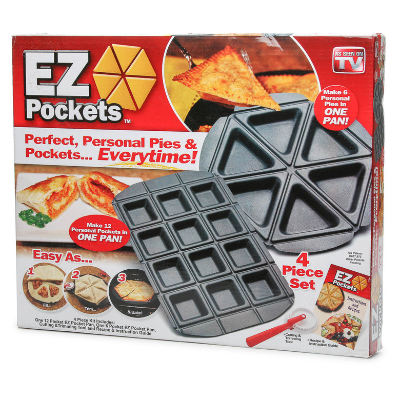 Форма для быстрого приготовления пирогов EZ Pockets