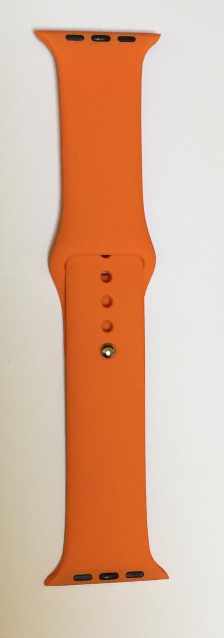 """Ремешок для Apple Watch 38/40 mm """"оранжевое настроение"""" №13"""