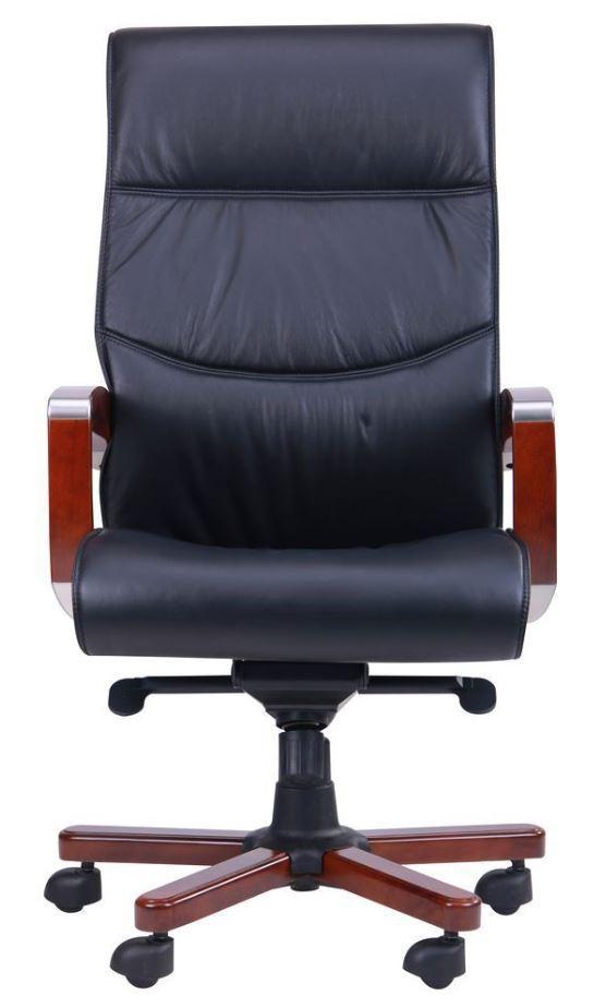 Кресло Монтана НВ, кожа черная (619-B+PVC) фото 2