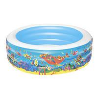Надувний дитячий басейн Bestway 51122 Море