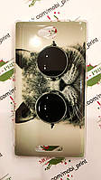 Чехол для Sony Xperia C C2305 (Кот в очках)