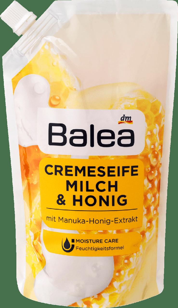 Жидкое крем - мыло Balea Milch & Honiq (запаска), 500 ml