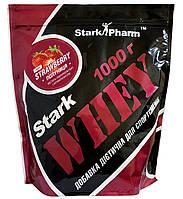 Сывороточный протеин Stark Pharm - Whey Protein (1000 г) strawberry/клубника, Украина, 9,33 гр