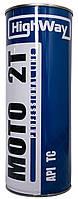 Моторное масло(полусинтетика) HighWay MOTO 2T