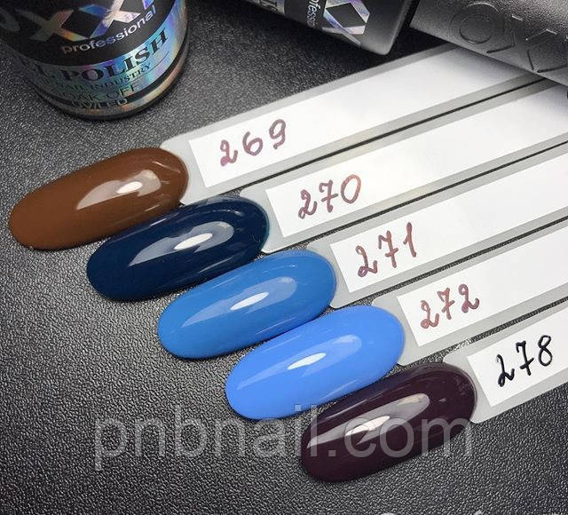 Гель-лак OXXI Professional №270, 8 мл, фото 1