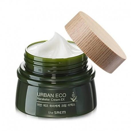 Увлажняющий крем с новозеландским льном The Saem Urban Eco Harakeke Cream EX, 60 мл