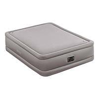 Надувная кровать двухспальная с встроенным насосом Intex 64470, фото 1